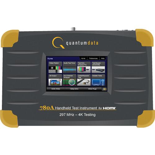 Quantum 780A HDMI 2.0 Handheld Test Instrument