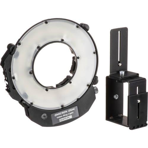 Quantum Instruments Omicron 4 Compact LED Video Ring Light Kit
