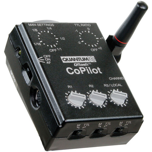 Quantum Instruments Qflash TRIO Flash Kit with Turbo SC Battery Pack & CoPilot Controller for Nikon Cameras