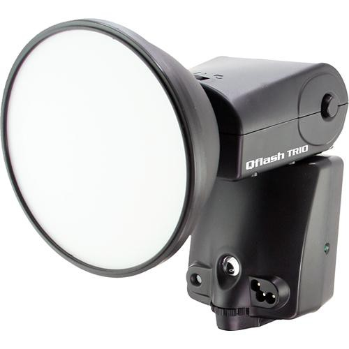 Quantum Instruments Qflash TRIO Flash Kit with Turbo Blade Battery Pack for Canon Cameras