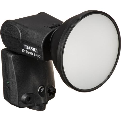 Quantum Instruments Qflash TRIO Basic Flash Kit with Turbo Blade Battery Pack for Nikon Cameras