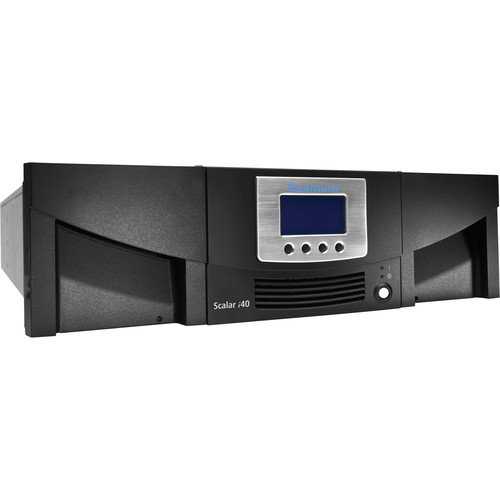 Quantum Scalar i40 IBM LTO-6 Library with Two Tape Drives (40 Slots, Advanced Features, SAS)