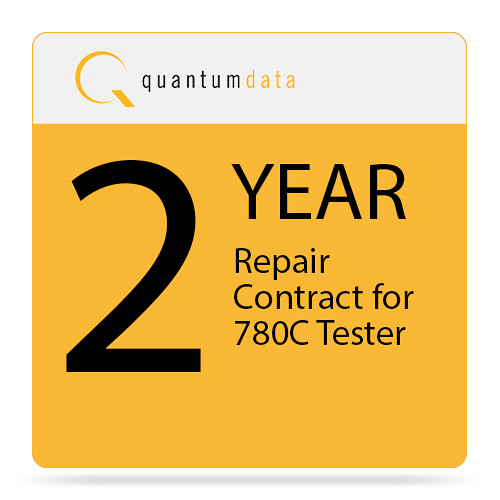 Quantumdata 2-Year Repair Contract for 780C Tester