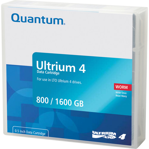 Quantum MR-L4LQN-BC LTO Ultrium 4-Tape Bar-Code Labeled Cartridge Library Pack of 20 (800/1600GB)