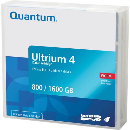 Quantum MR-L4MQN-02 LTO Ultrium 4-Tape WORM Cartridge (800/1600GB)