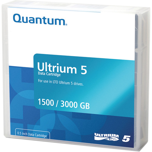 Quantum MR-L5LQN-BC LTO Ultrium 5-Tape Bar-Code Labeled Cartridge Library Pack of 20 (1.5/3.0TB)