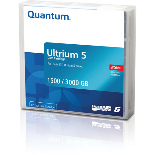 Quantum MR-L5MQN-01 LTO Ultrium 5-Tape Standard Cartridge (1.5/3.0TB)
