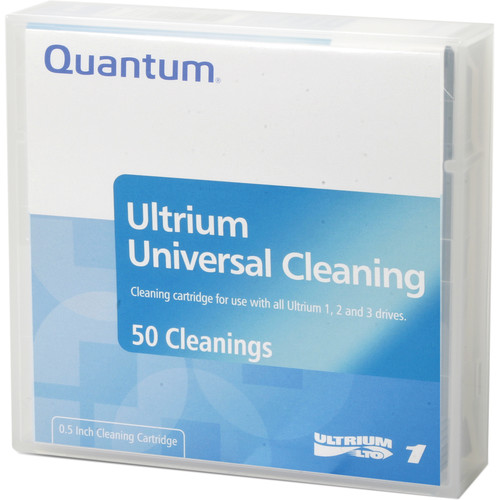 Quantum Ultrium Universal Cleaning Cartridge for LTO 1/2/3/4/5/6 (Barcode Labeled)
