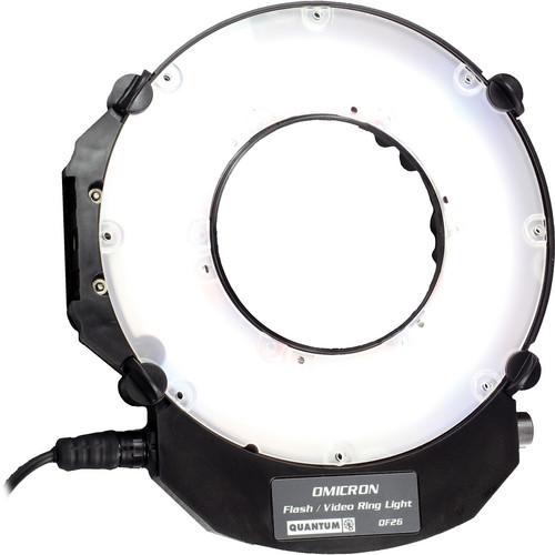 Quantum Studio Lighting: Used Quantum Instruments OMICRON QF26 Ring Light For Flash