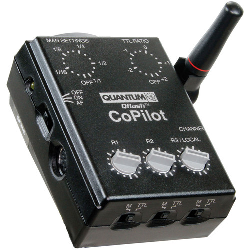 Quantum Instruments CoPilot Wireless TTL Flash Controller for Sony Multi Interface Shoe