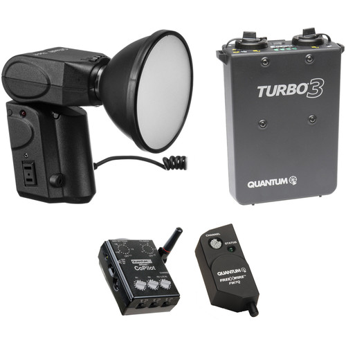 Quantum Instruments Qflash T5D-R CoPilot Wireless TTL Battery Kit for Nikon