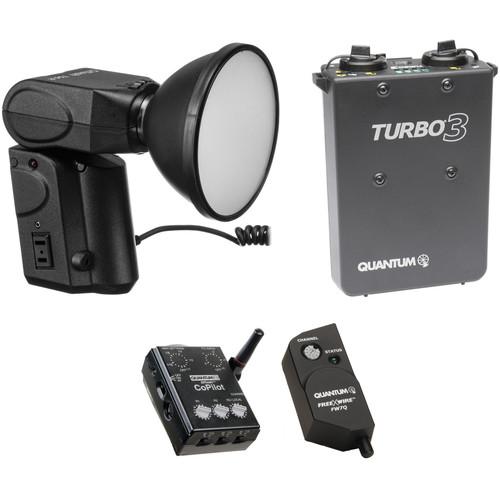 Quantum Instruments Qflash T5D-R CoPilot Wireless TTL Battery Kit for Nikon