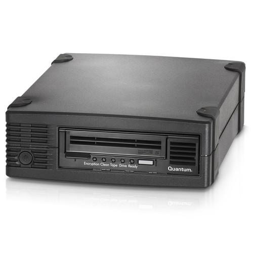 Quantum LTO-5 HH Tabletop SAS HBA and Media Bundle (5 pcs, 6 GB/s SAS, Black)