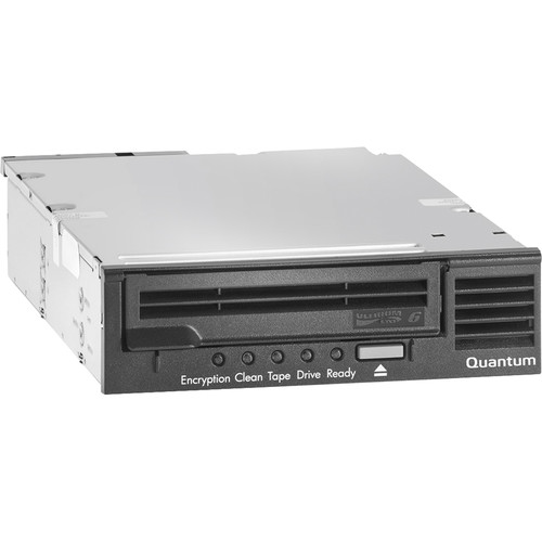 Quantum LTO-6 HH Internal Bare Drive Option for 1U Rackmount (6 GB/s SAS, Black)