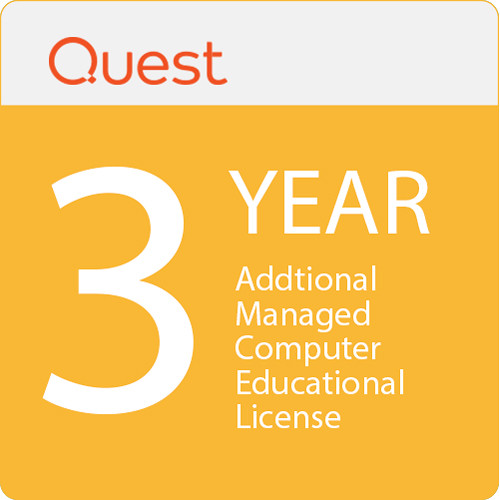 Quest Kace Systems Management Addtional Managed Comp Educational Licence 3-Years