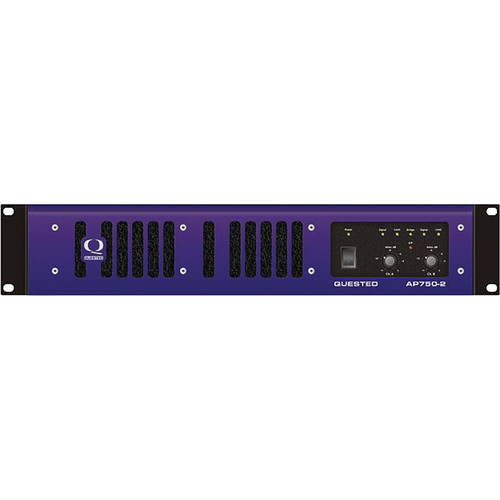 Quested AP750-2 Channel Class A/B Amplifier (750W/CH at 4Ω)