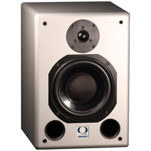 """Quested S8R MkIII - 370W 8"""" Two-Way Active Studio Monitor (Single)"""
