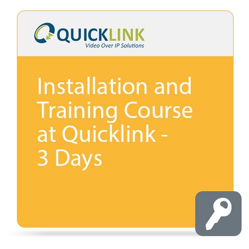 Quicklink 3-Day Training Course at Quicklink