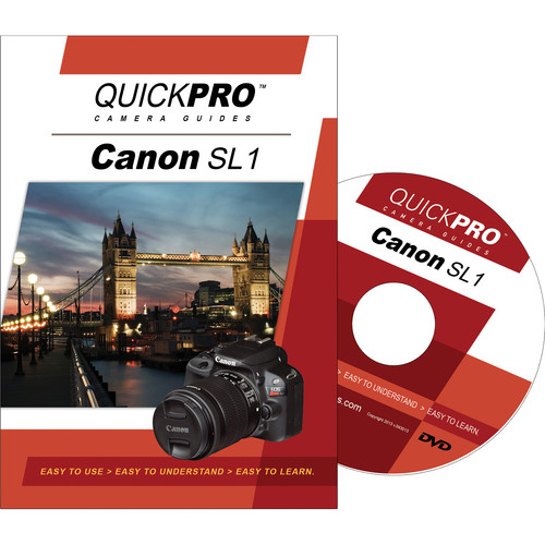 QuickPro DVD: Canon SL1 Instructional Camera Guide