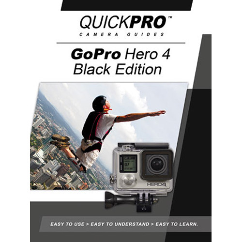 QuickPro DVD: GoPro Hero 4 Black Edition Instructional Camera Guide