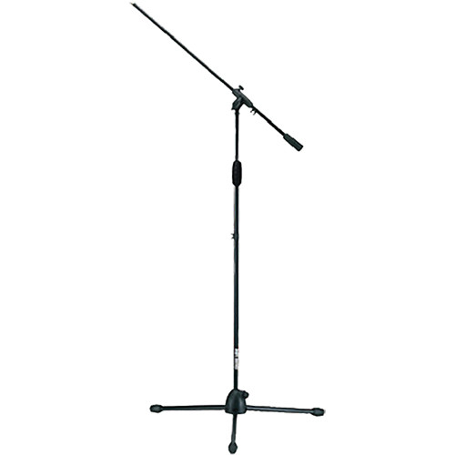 QuikLok A-300 Straight Tripod Mic Stand with Fixed Length Boom