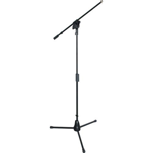 QuikLok A-502 Professional Microphone Tripod Stand with Fixed Boom