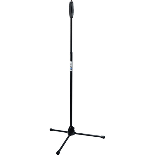 QuikLok A-987 Straight Tripod Microphone Stand with One-Handed Clutch