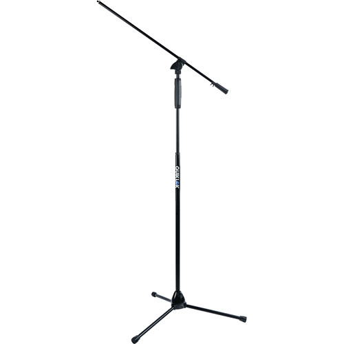 QuikLok A-989 Tripod Base Boom Mic Stand with One-Hand Clutch Height Adjustment