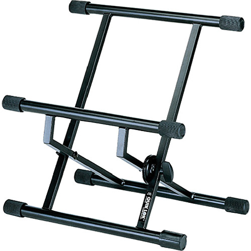 QuikLok BS317 Double-Brace Low Profile Amp Stand