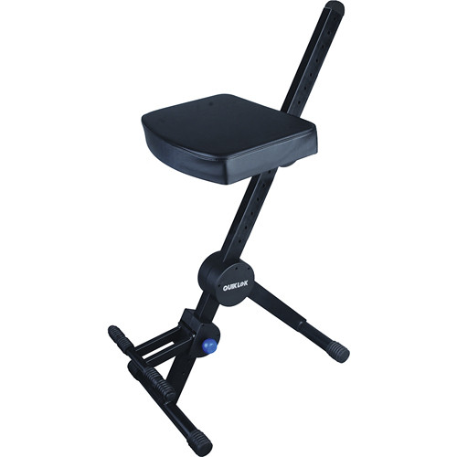 QuikLok DX-739 Musician's Stool (Black)