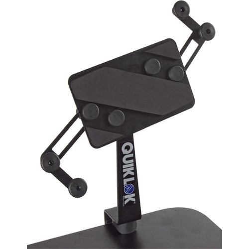 QuikLok IPS-16 Table-Mount Universal Tablet Holder (Black)