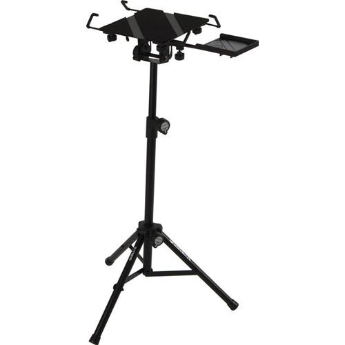 QuikLok LPH-004 Fully Adjustable Tripod-Base Universal Laptop Holder