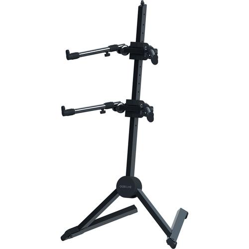 QuikLok Adjustable Double-Tier Slant Keyboard Stand