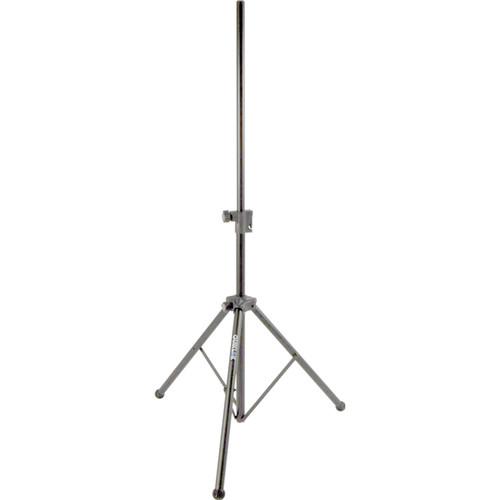 "QuikLok ""Easy-Lift"" Deluxe Aluminum Pneumatic Speaker Stand (Silver Satin)"