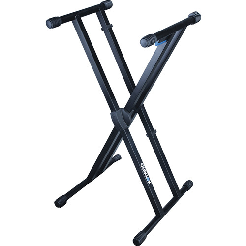QuikLok T/550 Single-Tier Double-Brace Keyboard Stand