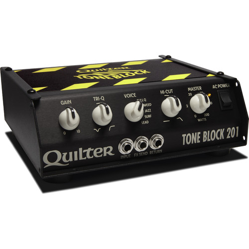 Quilter Tone Block 201 200W Guitar Amplifier Head with Carrying Case