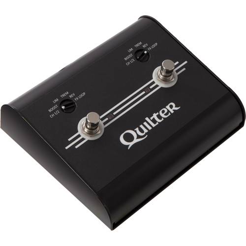 Quilter Selectable Two-Position Foot Controller for MicroPro & Steelaire Series Amps