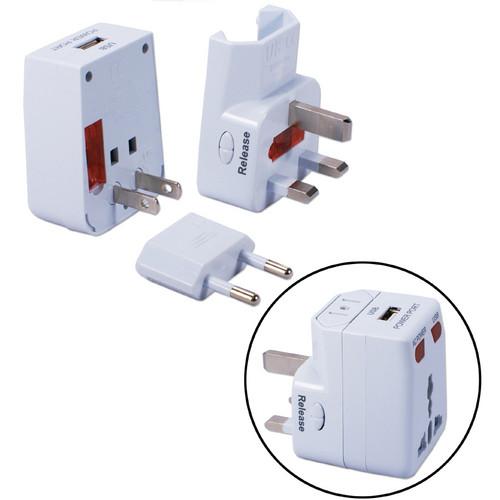 QVS Premium World Power Travel Adapter