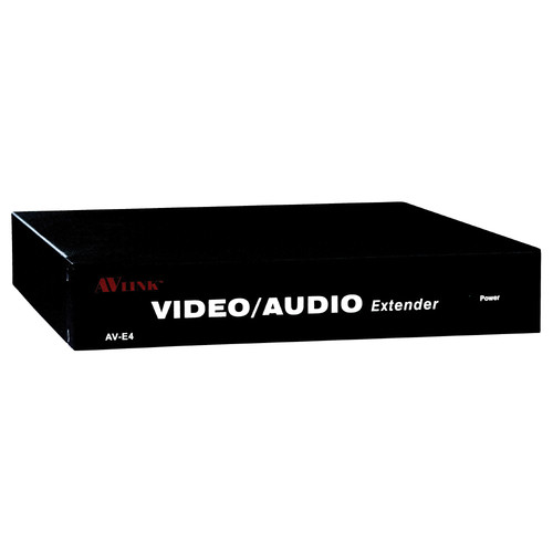 QVS VAC5-EX4 VGA/QXGA/Stereo Audio over CAT5e Transmitter Module with Local VGA/Audio & 4 RJ45 Ports (984')