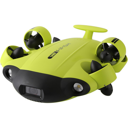 QYSEA FIFISH V6  Underwater ROV Kit (328' Tether + Additional VR Function)