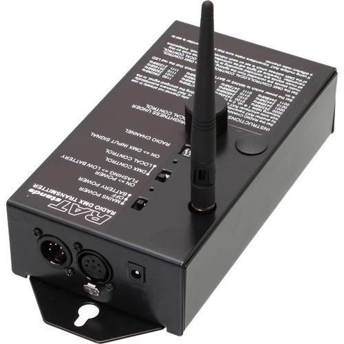 RATstands Radio DMX Transmitter/Repeater