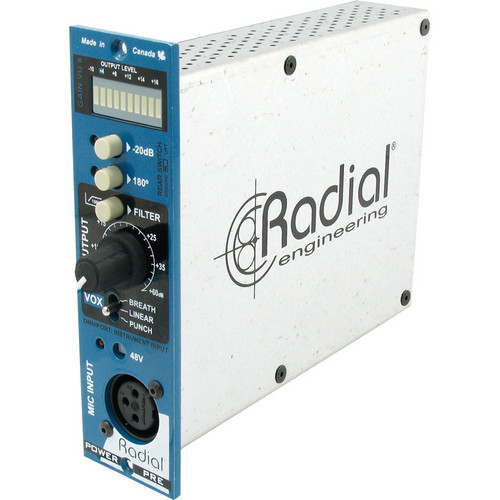 Radial Engineering PowerPre Microphone Preamplifier