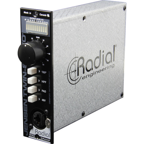 Radial Engineering Jensen Twin-Servo 500 Series Mic Preamp
