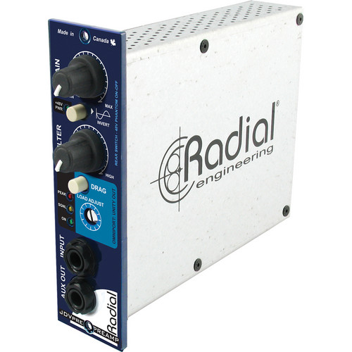 Radial Engineering JDV-Pre Instrument Preamp & DI
