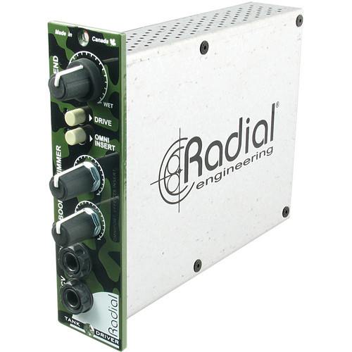 Radial Engineering Radial 500 Series TankDriver Spring Reverb Studio Interface