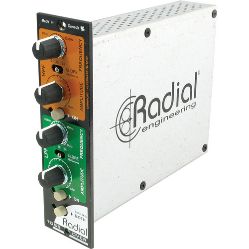 Radial Engineering Tossover Variable Frequency Divider