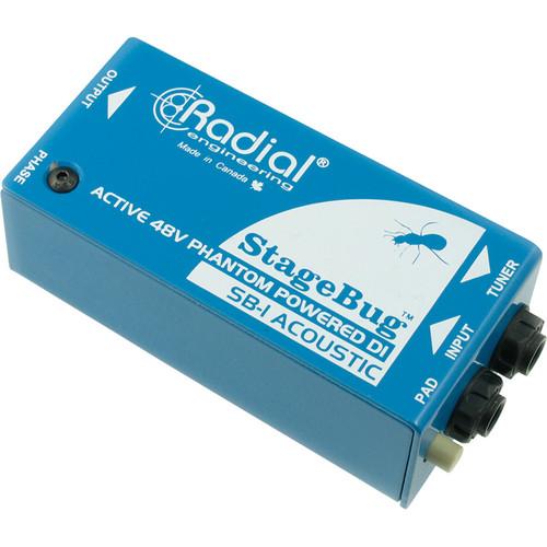 Radial Engineering StageBug SB-1 Active Acoustic Direct Box