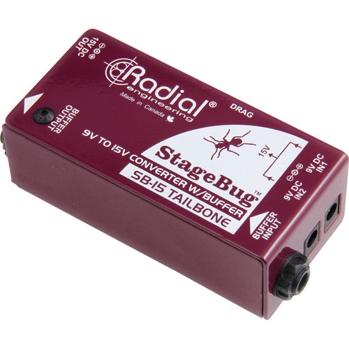 Radial Engineering StageBug SB-15 Tailbone Signal Buffer