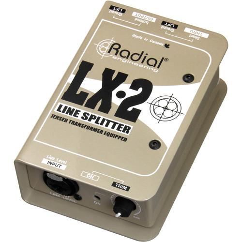 Radial Engineering LX-2 Passive Line Splitter and Attenuator