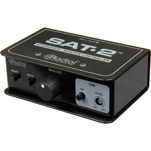 Radial Engineering SAT-2 Stereo Monitor Controller and Audio Attenuator
